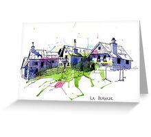 La Berarde, France Greeting Card