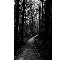 The Loneliest Path Photographic Print