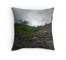 Urquhart Castle 2 Throw Pillow