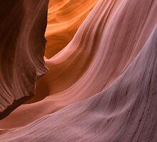 Antelope Canyon. by Michael Treloar