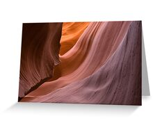Antelope Canyon. Greeting Card