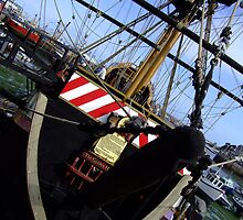 Brixham, Golden Hind by Jem Wright