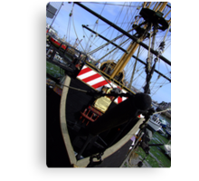 Brixham, Golden Hind Canvas Print