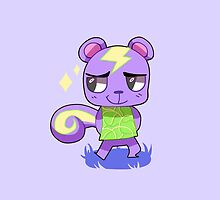 Animal Crossing Character: Static by 8BitAmy