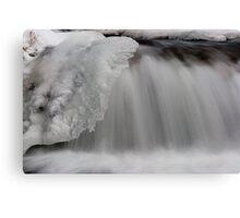Ice Sheet. Canvas Print