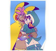 Pokecosplay - Pikachu x Snorlax Poster