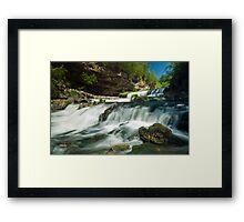 Willow Falls. Framed Print