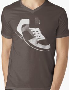 Carbon Sneaker Mens V-Neck T-Shirt
