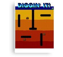 Diggin' It!  Canvas Print