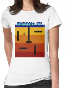 Diggin' It!  Womens Fitted T-Shirt