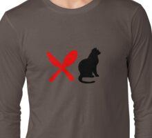 HUNGRY CAT  Long Sleeve T-Shirt