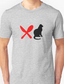 HUNGRY CAT  Unisex T-Shirt