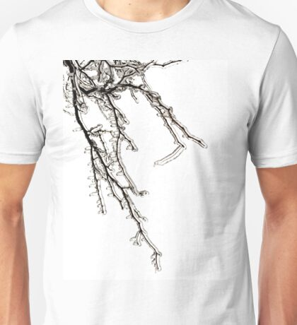 Ice on Branches Unisex T-Shirt