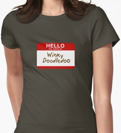 Hello My Name Is... Womens Fitted T-Shirt