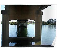 Bridge Over Taree Waters Poster