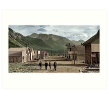 Eureka Colorado (unknown date, late 1800s) Art Print
