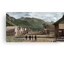 Eureka Colorado (unknown date, late 1800s) Canvas Print