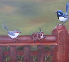 First Day Out Of The Nest by Denise Martin