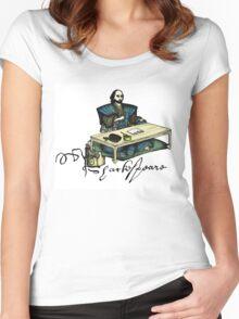 Samurai Shakespeare Women's Fitted Scoop T-Shirt