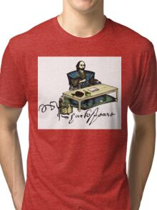 Samurai Shakespeare Tri-blend T-Shirt