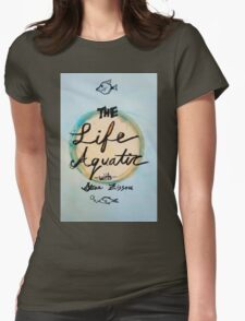 The Life Aquatic  Womens Fitted T-Shirt