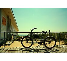 Beach Cruiser Photographic Print