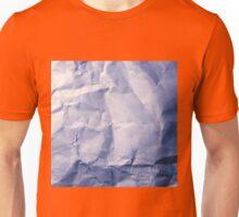 Blue Paper Unisex T-Shirt