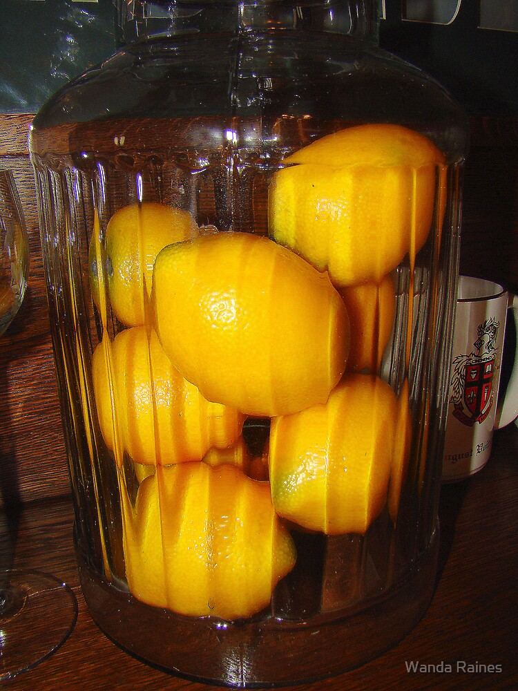 Lemons Anyone? by Wanda Raines