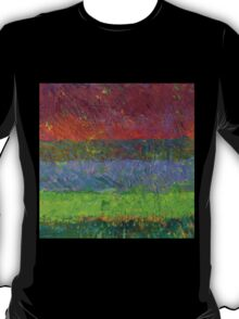 Abstract Landscape Series - Blue Waters T-Shirt