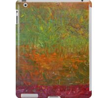 Abstract Landscape Series - Fallen Leaves iPad Case/Skin