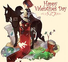 Shadow of the colossus Valentine's day  by theglisett1