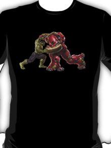 Hulk Buster v Hulk T-Shirt
