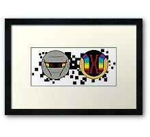 Daft Punk Emote Dead Framed Print