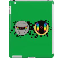 Daft Punk Emote WTF iPad Case/Skin