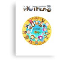 Mother 3 Chibis Canvas Print