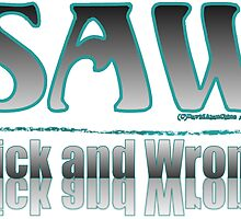 SICK AND WRONG:  AS SEEN ON TEE-SHIRTS VOL. 2 by dragonindenver