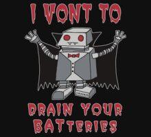 Robot Vampire Kids Tee