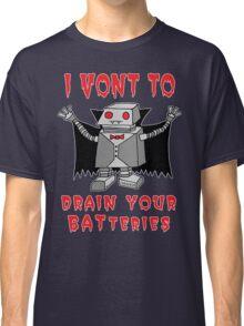 Robot Vampire Classic T-Shirt