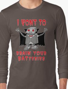 Robot Vampire Long Sleeve T-Shirt