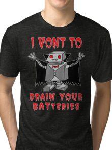 Robot Vampire Tri-blend T-Shirt