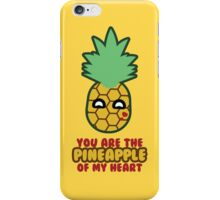 Pineapple of My Heart iPhone Case/Skin