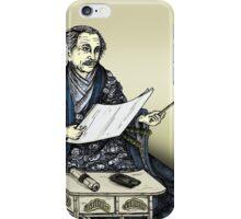 Samurai Albert Einstein iPhone Case/Skin