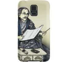 Samurai Albert Einstein Samsung Galaxy Case/Skin