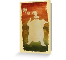 Are you a Gamblin' Man? Greeting Card
