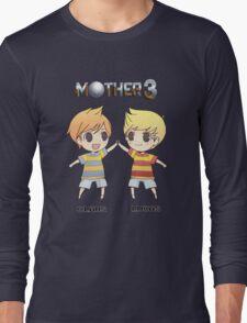 Mother 3/ Earthbound 2 Chibis Long Sleeve T-Shirt