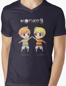 Mother 3/ Earthbound 2 Chibis Mens V-Neck T-Shirt