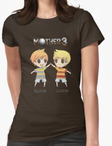 Mother 3/ Earthbound 2 Chibis Womens Fitted T-Shirt