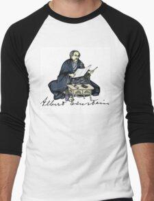 Samurai Albert Einstein Men's Baseball ¾ T-Shirt
