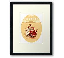 Journey Chibi Framed Print