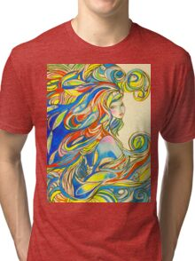 By Your Side Tri-blend T-Shirt